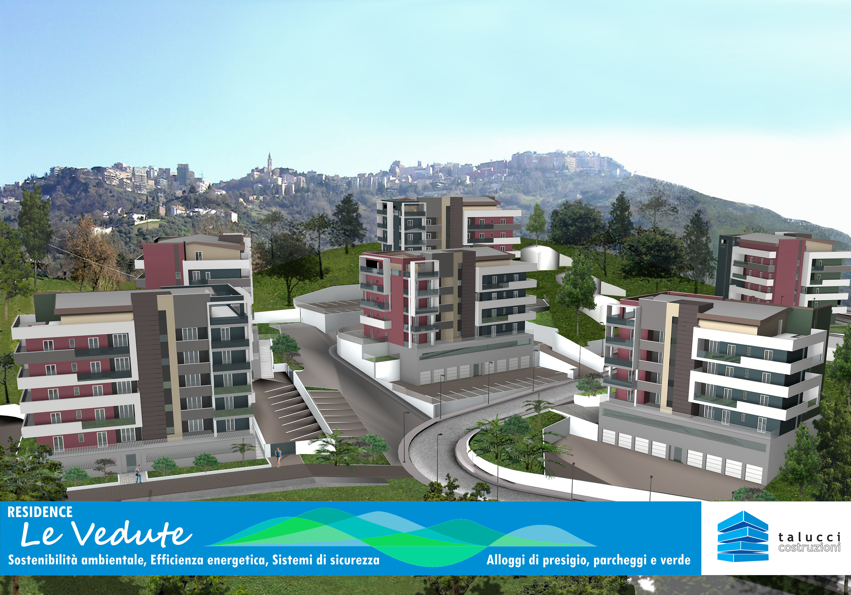 "Pentalocale – Residence""Le Vedute"" Palazzina ""B"" – Via Bellini"
